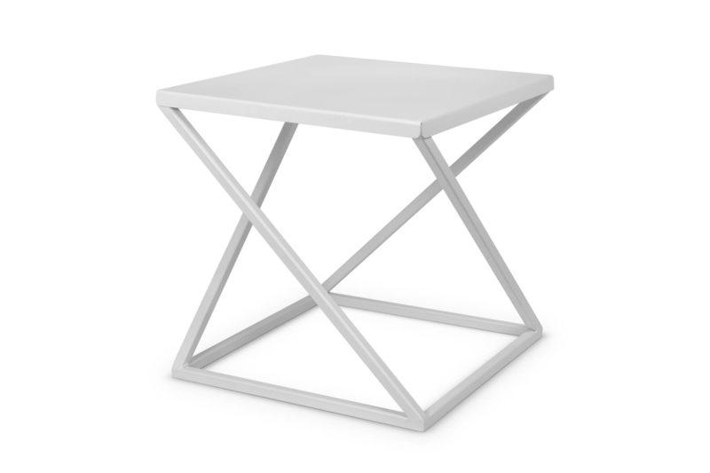 Nowoczesny metalowy stolik